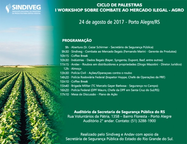 SSP sedia workshop sobre combate ao mercado ilegal