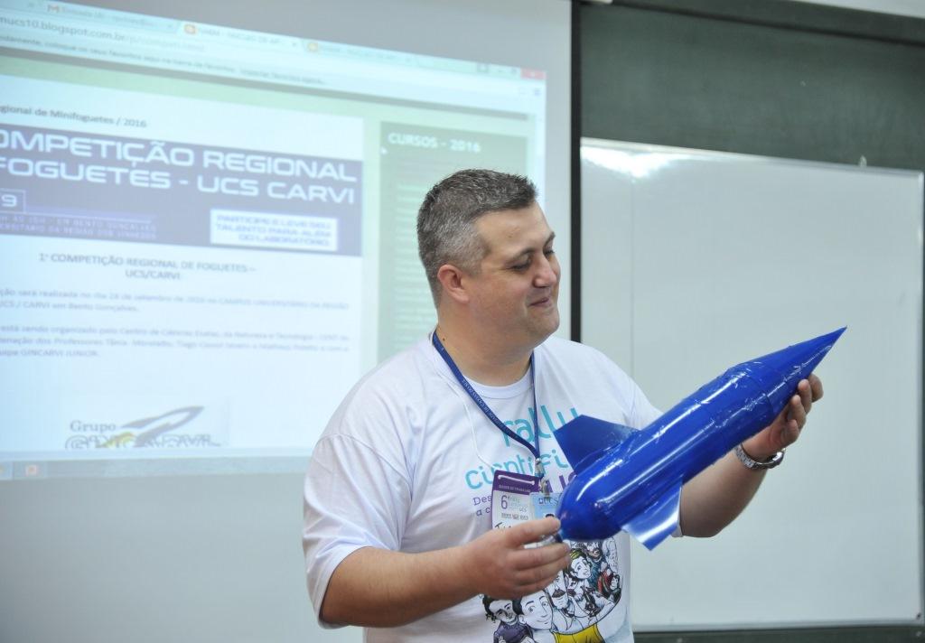 Competição Regional de Foguetes irá reunir 23 equipes na UCS/Carvi em Bento