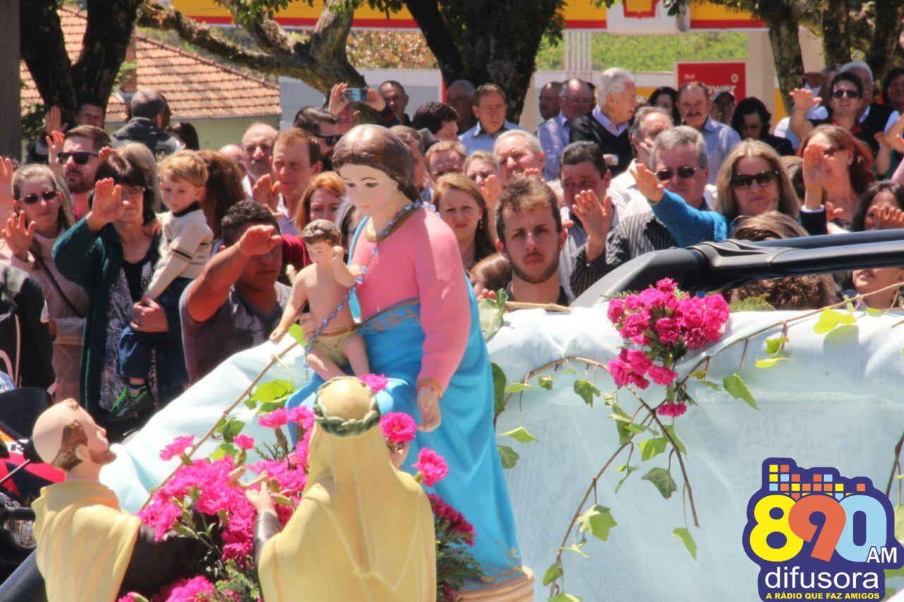 Inicia a novena em honra a Nossa Senhora do Rosário de Pompéia em Pinto Bandeira