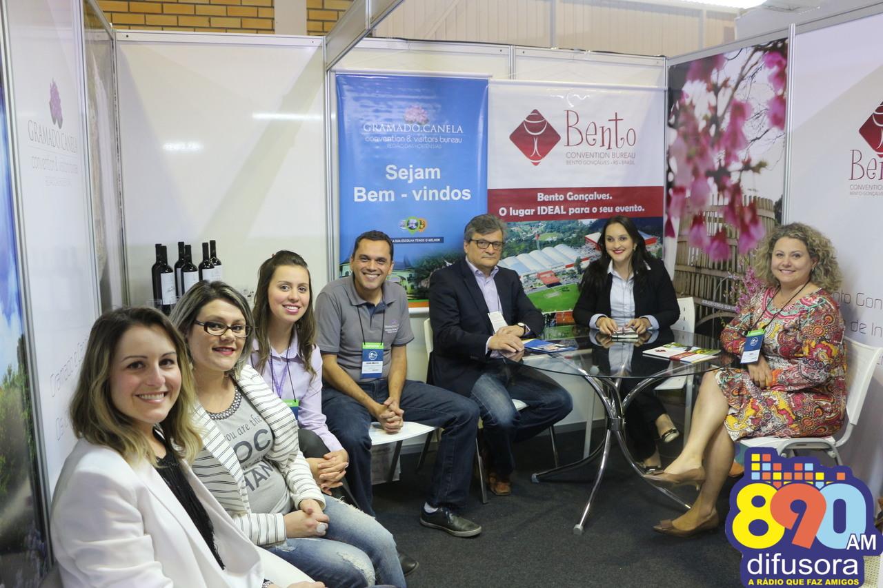 Convention Bureau reforça potencial para eventos de Bento no Festuris