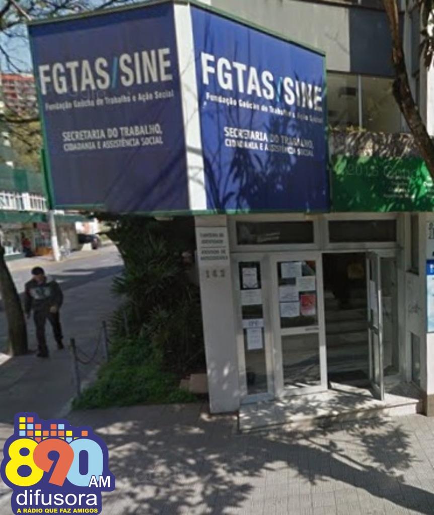 FGTAS/Sine de Bento oferece 22 vagas nesta semana