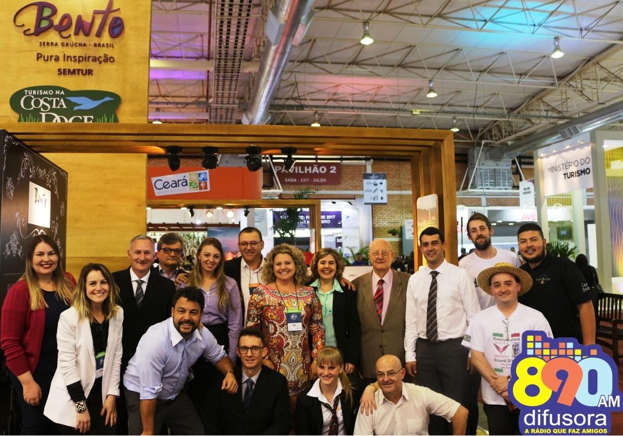 Trade turístico de Bento celebra a participação no Festuris 2016