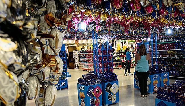 Supermercados gaúchos comercializam 6,5 milhões de ovos de Páscoa