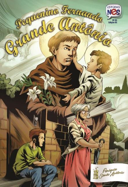 Paróquia realiza parceria de coprodução de gibi em homenagem a Santo Antônio