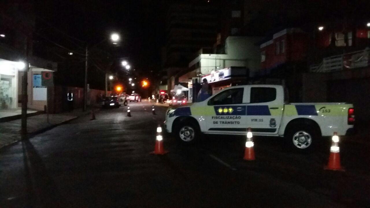 Operação Balada Segura autua 15 no trânsito de Bento