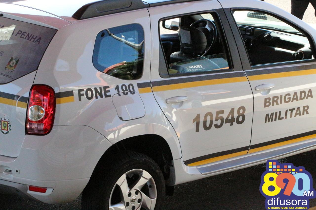 Foragido é recapturado em abordagem policial no interior de Guaporé