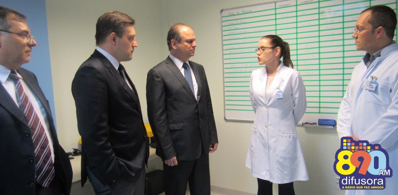 Ministro da Saúde oficializa financiamento de R$ 11 milhões para o hospital Tacchini