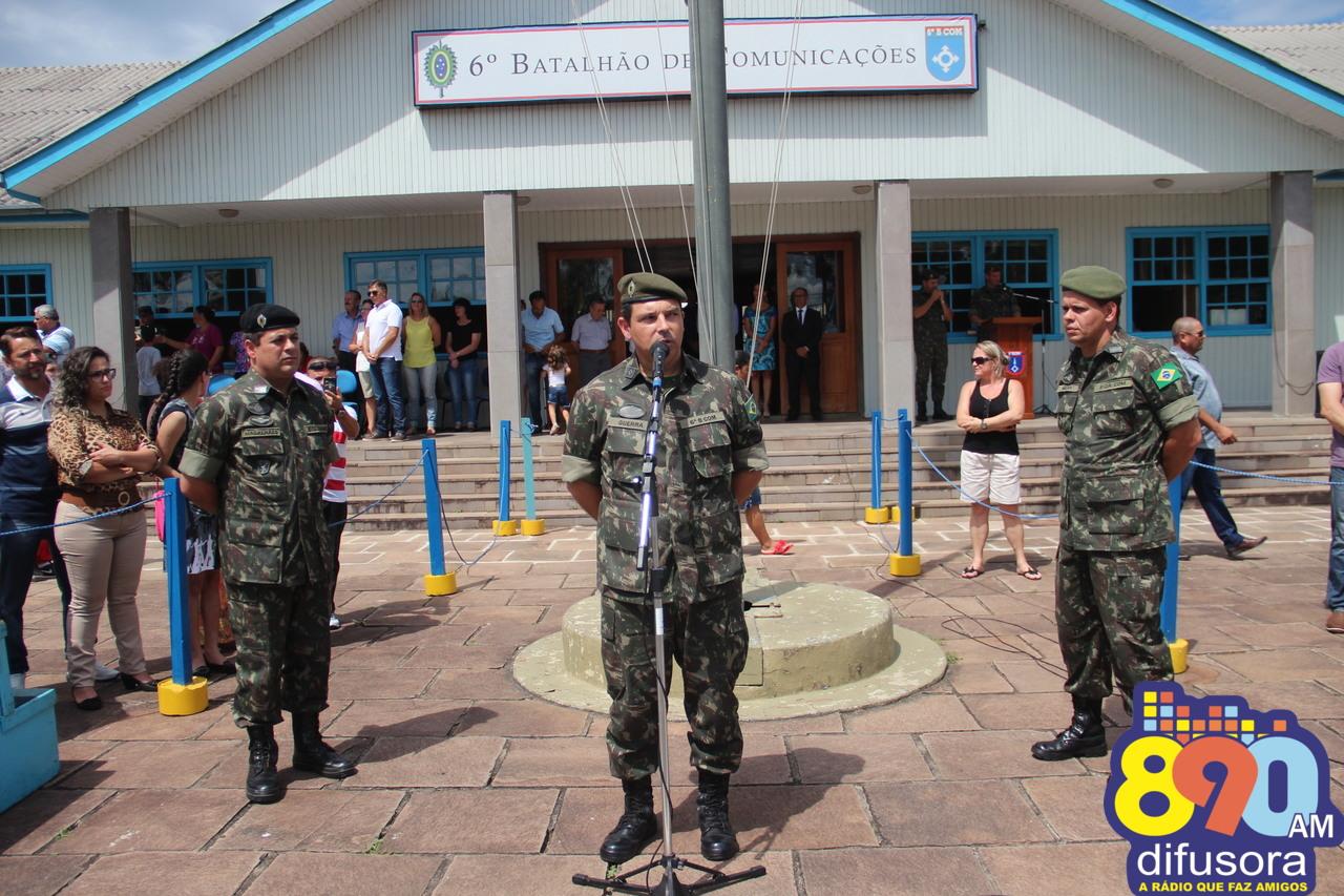 Passagem de comando do 6ºBCOM será antecipada para dezembro