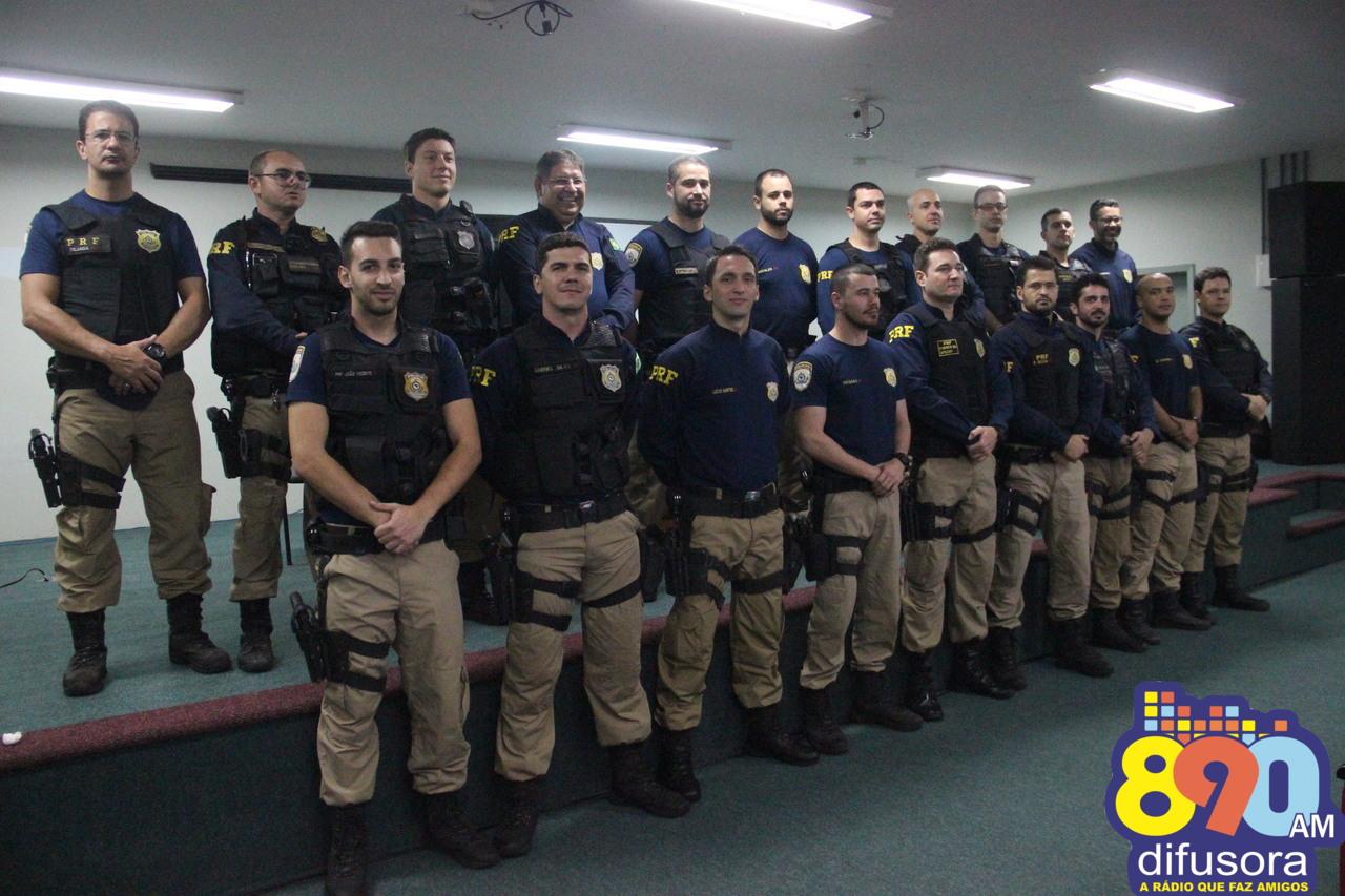 Empossada chefia da Delegacia da Polícia Rodoviária Federal de Bento