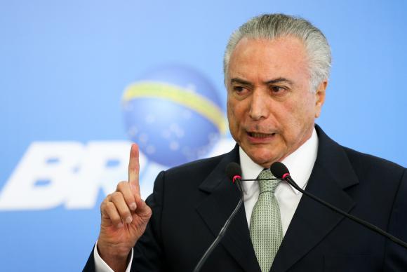 Temer diz estar confiante de que mais países retomarão compra de carne do Brasil