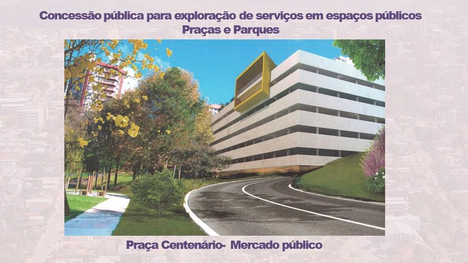 Prefeitura de Bento buscará interessados na construção de Mercado Público na Praça Centenário