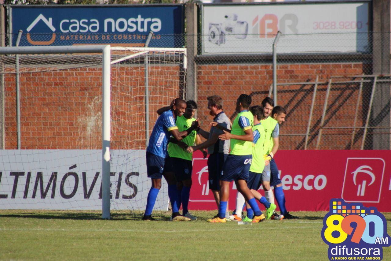 Esportivo vence a primeira com goleada e com três gols do atacante Zulu