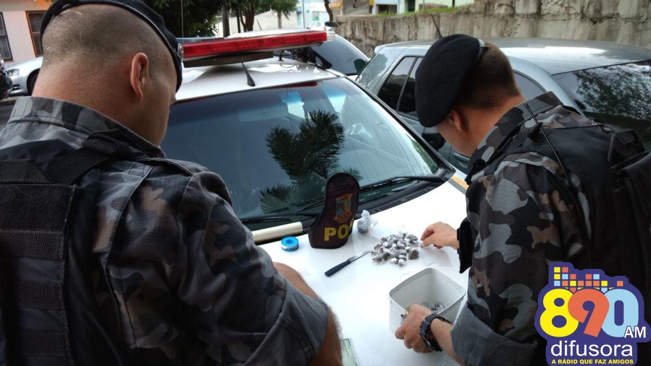 POE prende mulher por tráfico em Bento