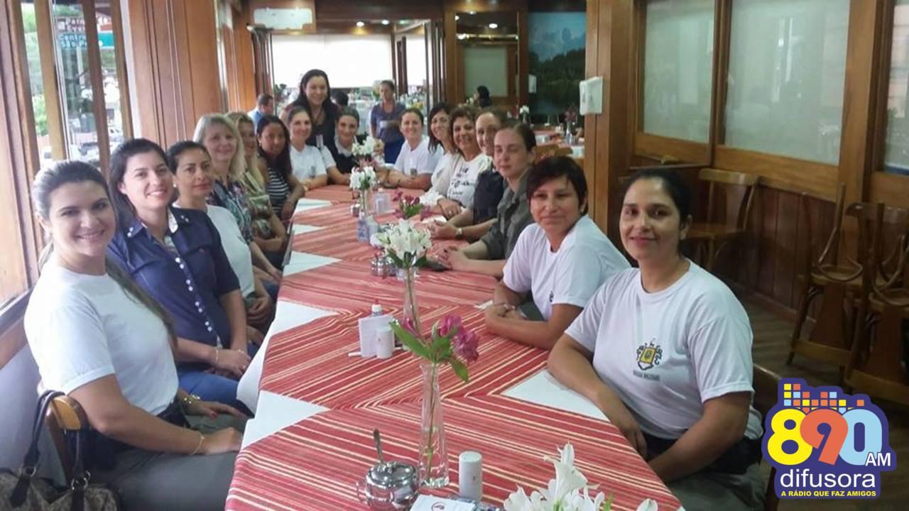 Mulheres da Brigada se reúnem em café da manhã