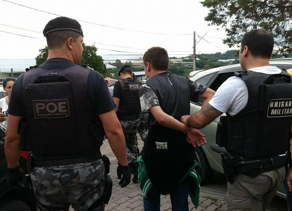 Em quatro dias, jovem é preso pela segunda vez após assalto em mercado em Bento Gonçalves