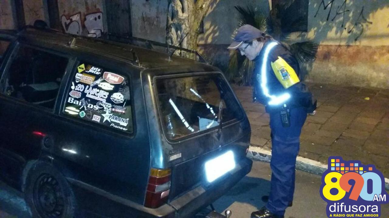 Adolescente é detido após fuga na Balada Segura em Bento