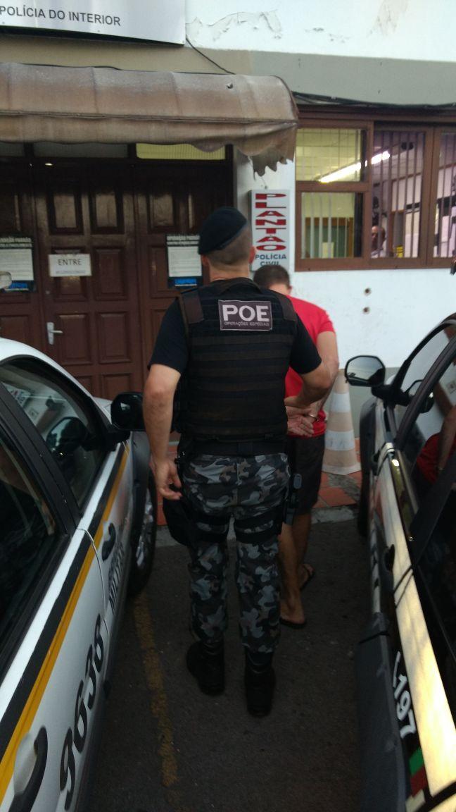 POE prende terceiro homem em menos de 4h em Bento