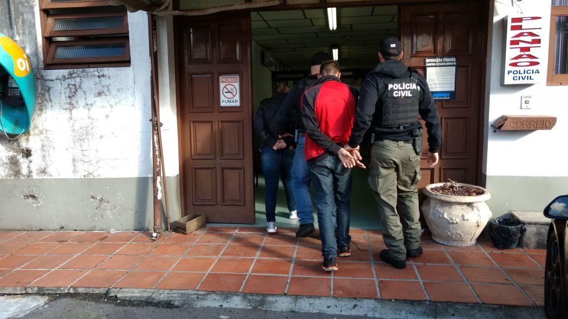 Polícia prende quadrilha por tráfico em Bento