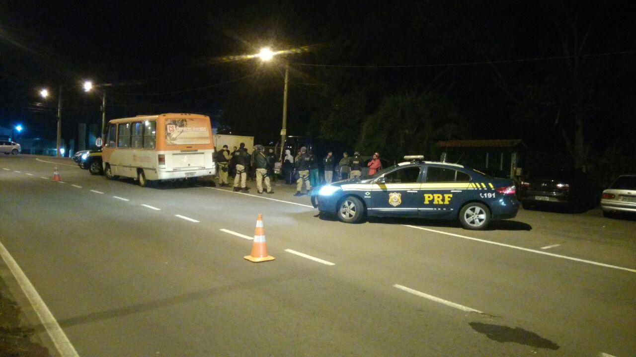 PRF intensifica combate ao crime no acesso ao bairro Conceição, em Bento Gonçalves