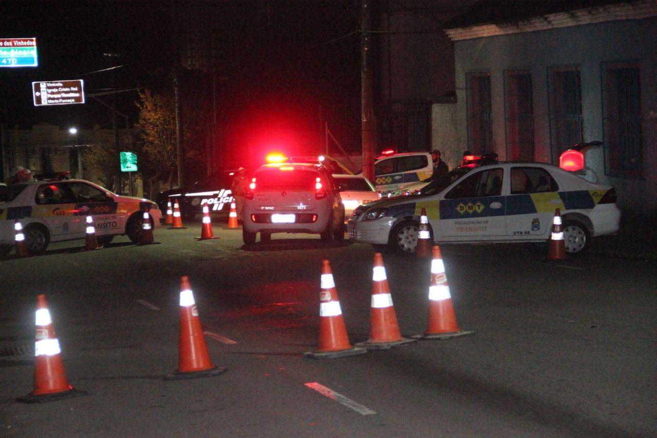 Blitzes da Balada Segura em outubro em Bento autuaram 49 por infrações diversas