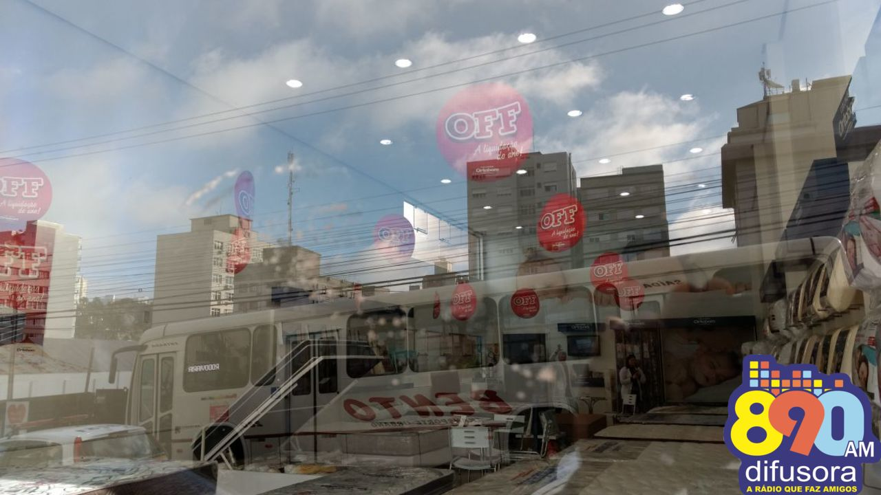 Tentativa de arrombamento em loja no centro de Bento