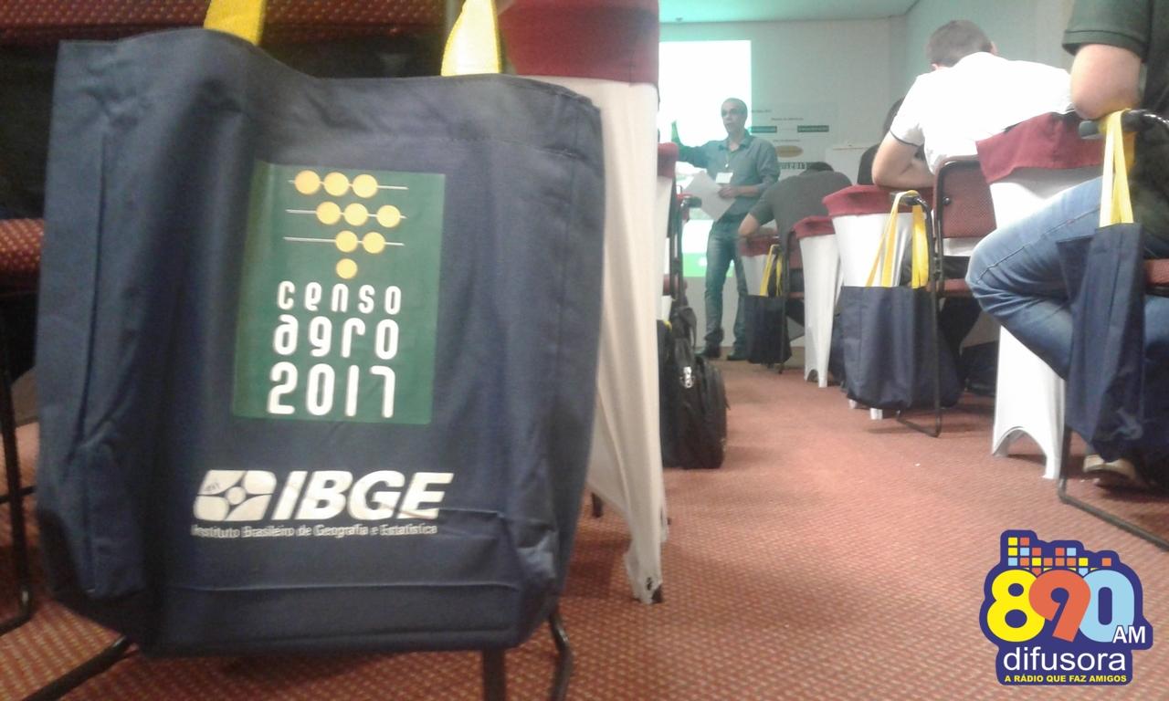 IBGE realiza segunda fase de treinamentos para o Censo Agropecuário 2017 em Bento