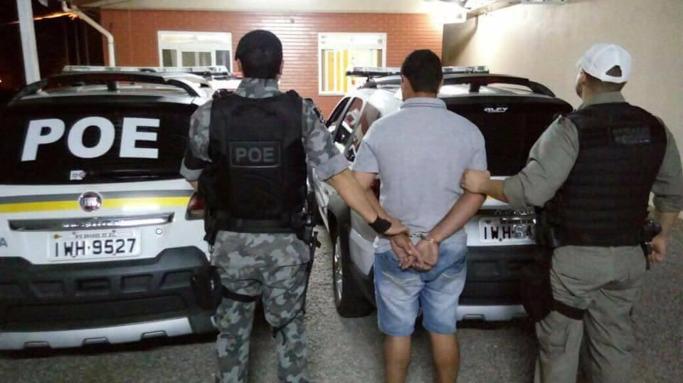 POE prende homem com drogas em Veranópolis