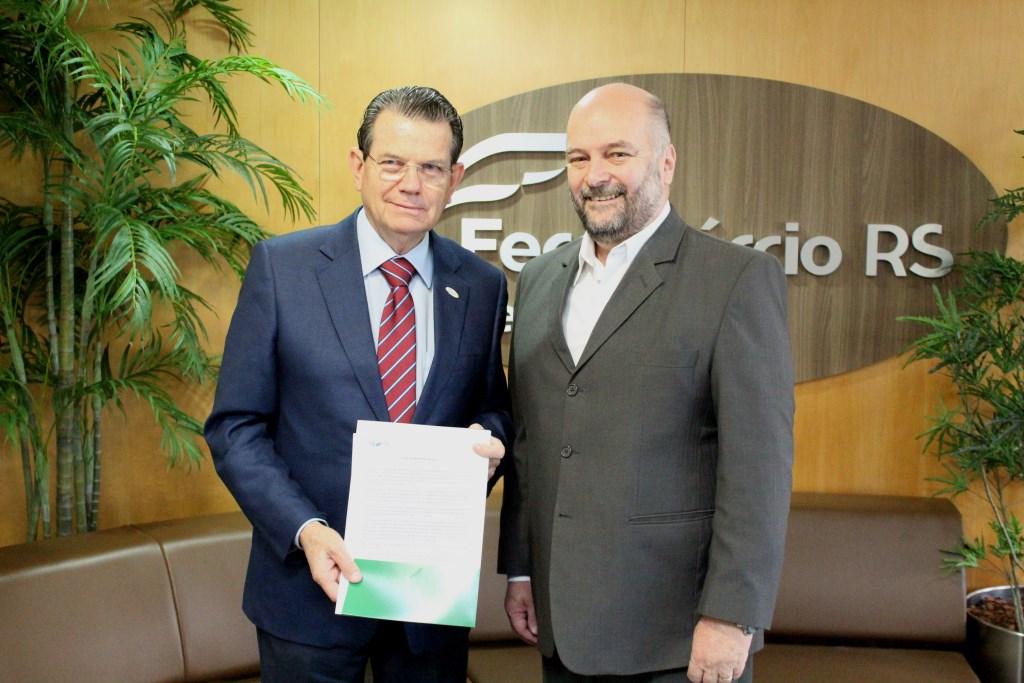 Encontro entre FCDL-RS e Fecomércio-RS discute medidas para o desenvolvimento do varejo