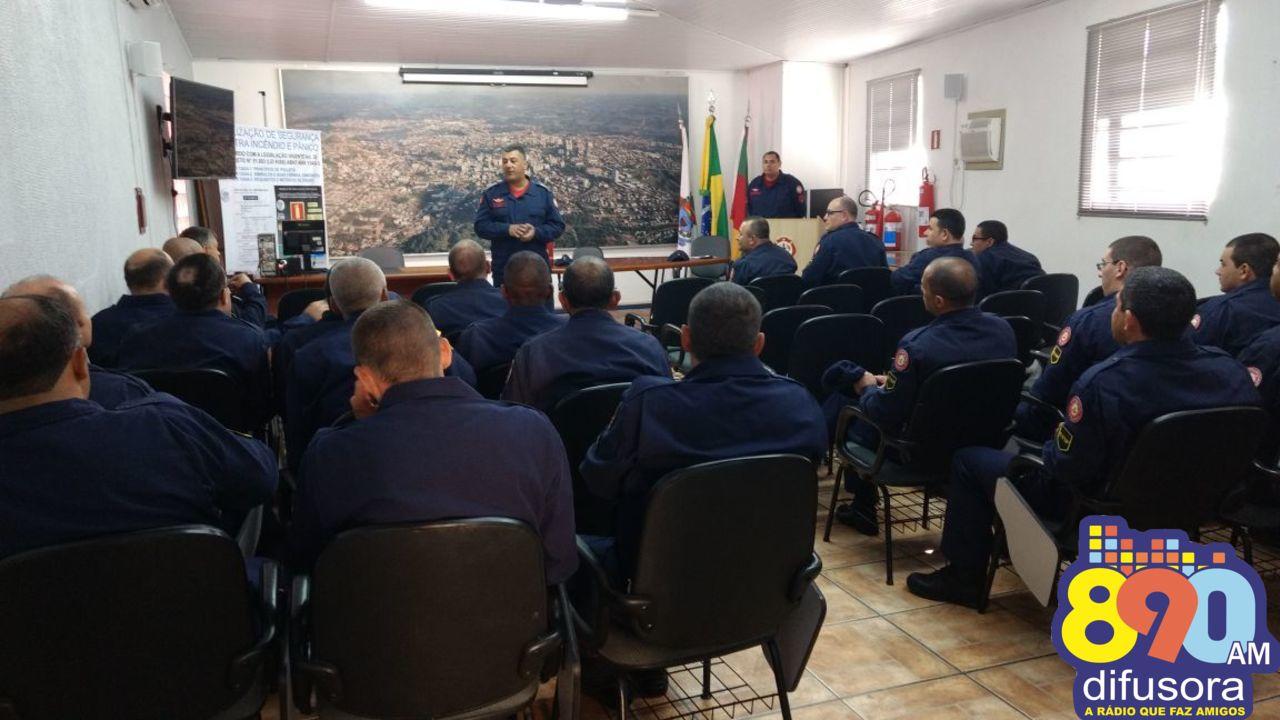 Bento recebe Curso de Qualificação de Sargentos do Corpo de Bombeiros