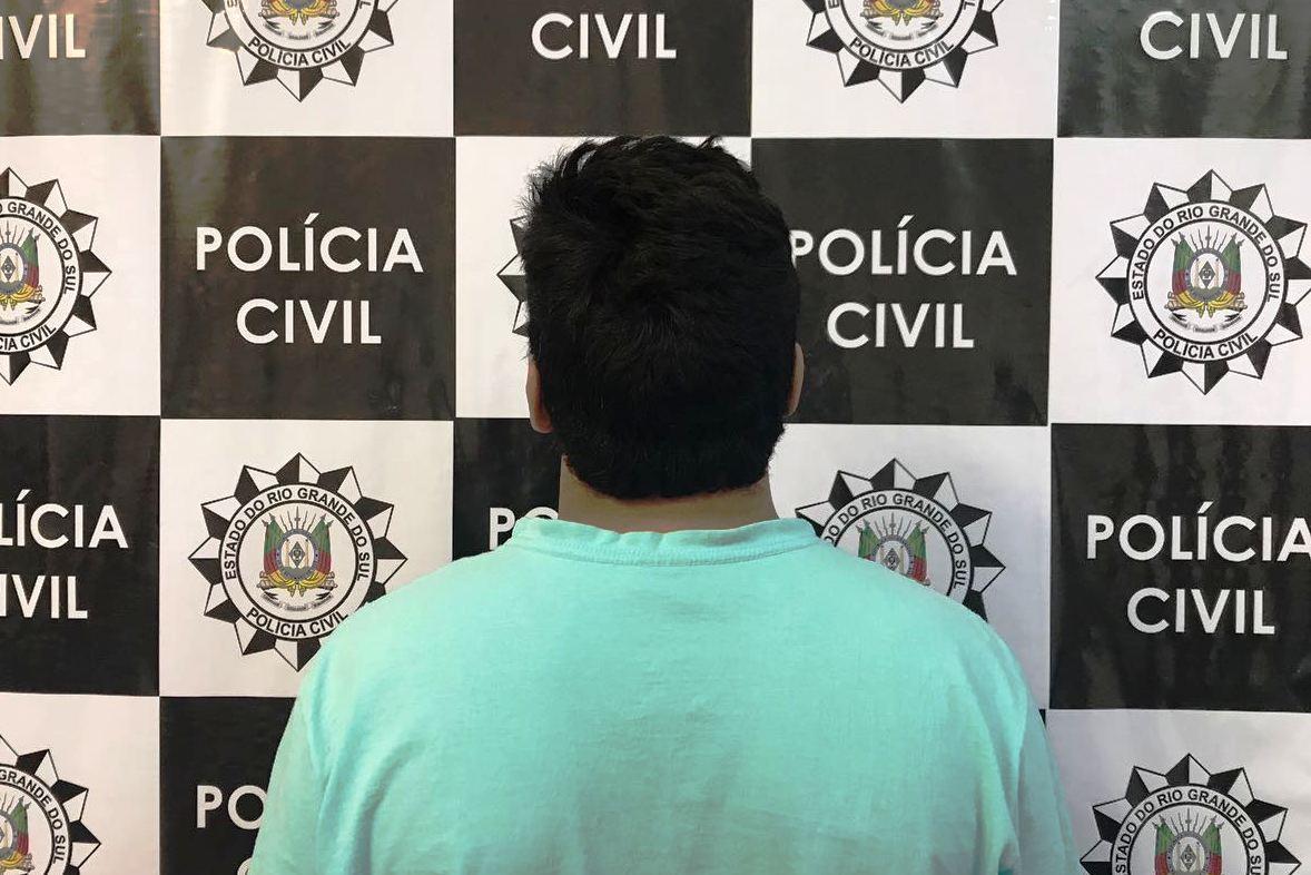 Suspeito por tráfico de drogas é preso em Caxias do Sul