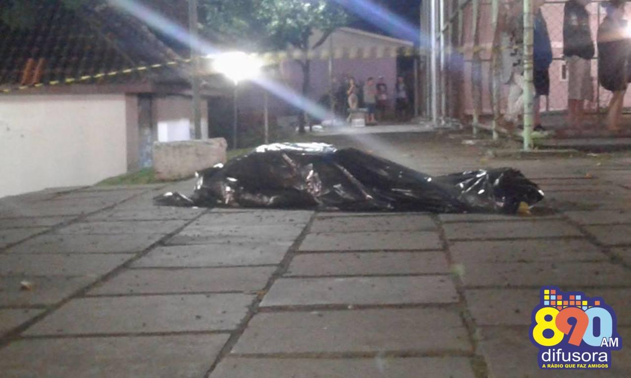 Homem é morto a tiros no bairro Progresso em Bento Gonçalves