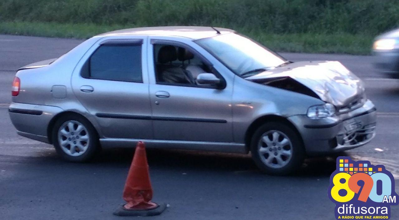 Jovem fica ferida em colisão na BR 470 em Garibaldi