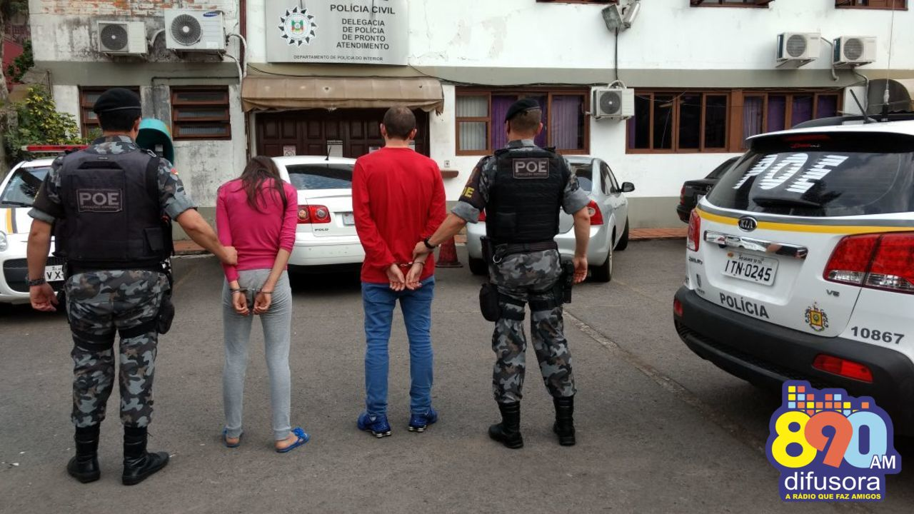 POE prende jovem e recaptura foragido no bairro Fenavinho em Bento