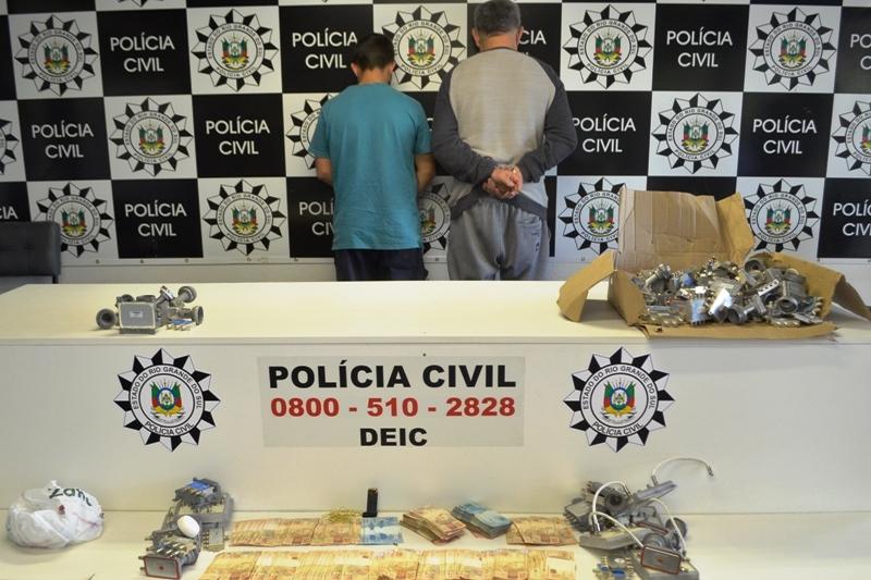 Polícia Civil deflagra Operação Metallum em três municípios do RS