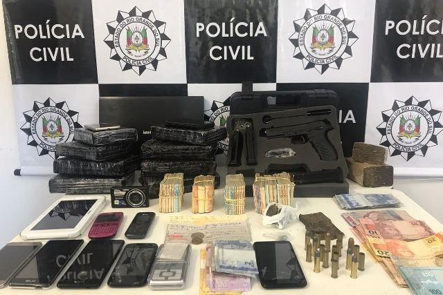 Dois homens são presos por tráfico de drogas em Caxias do Sul