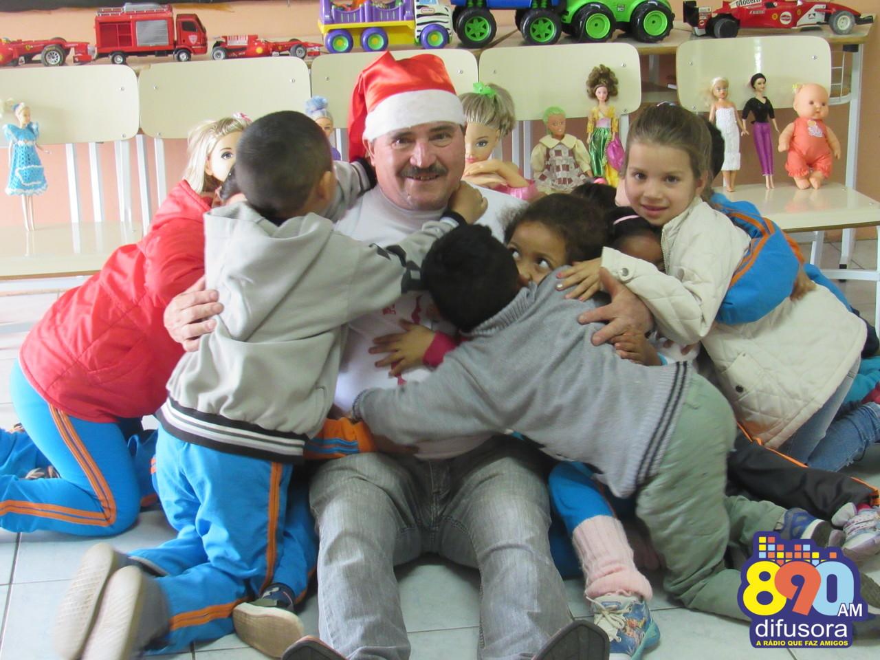 Papai Noel do Santa Marta lança mais uma edição do Natal Solidário em Bento