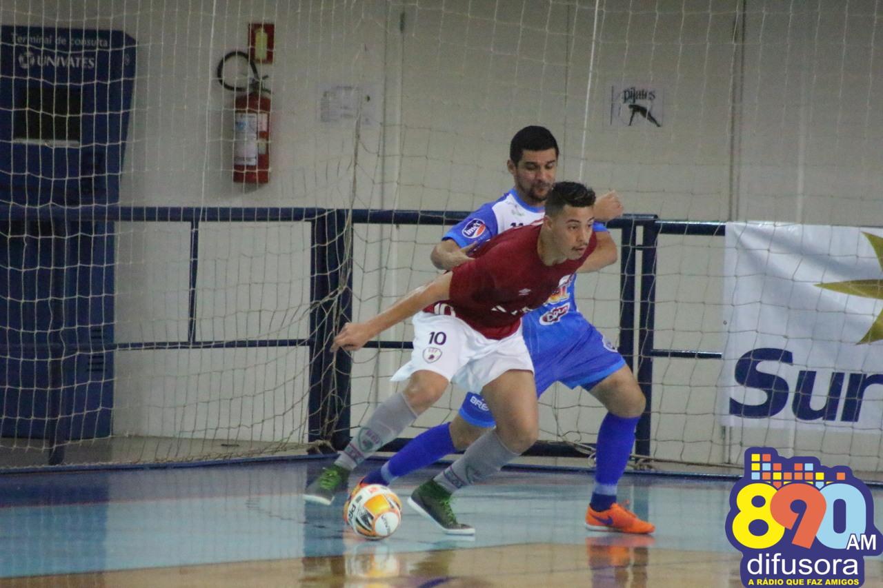 BGF é goleada em Lajeado pela Liga Gaúcha de Futsal