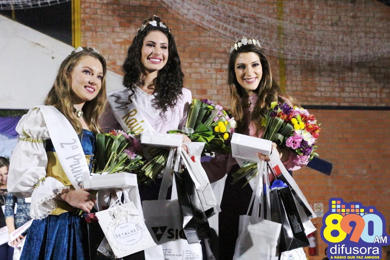 Eleitas Rainha e Princesas da Festa da Vindima 2018 de Monte Belo