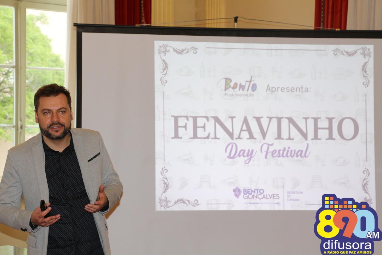 """Além de Desfile de Aniversário de Bento, município terá o """"Fenavinho Day Festival"""""""