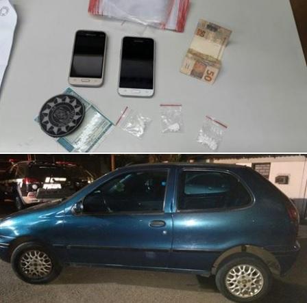 Polícia Civil prende homem por tráfico de drogas em Bento