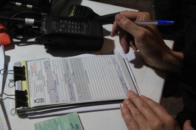 Mês de agosto registra 44 autuações na balada segura em Bento
