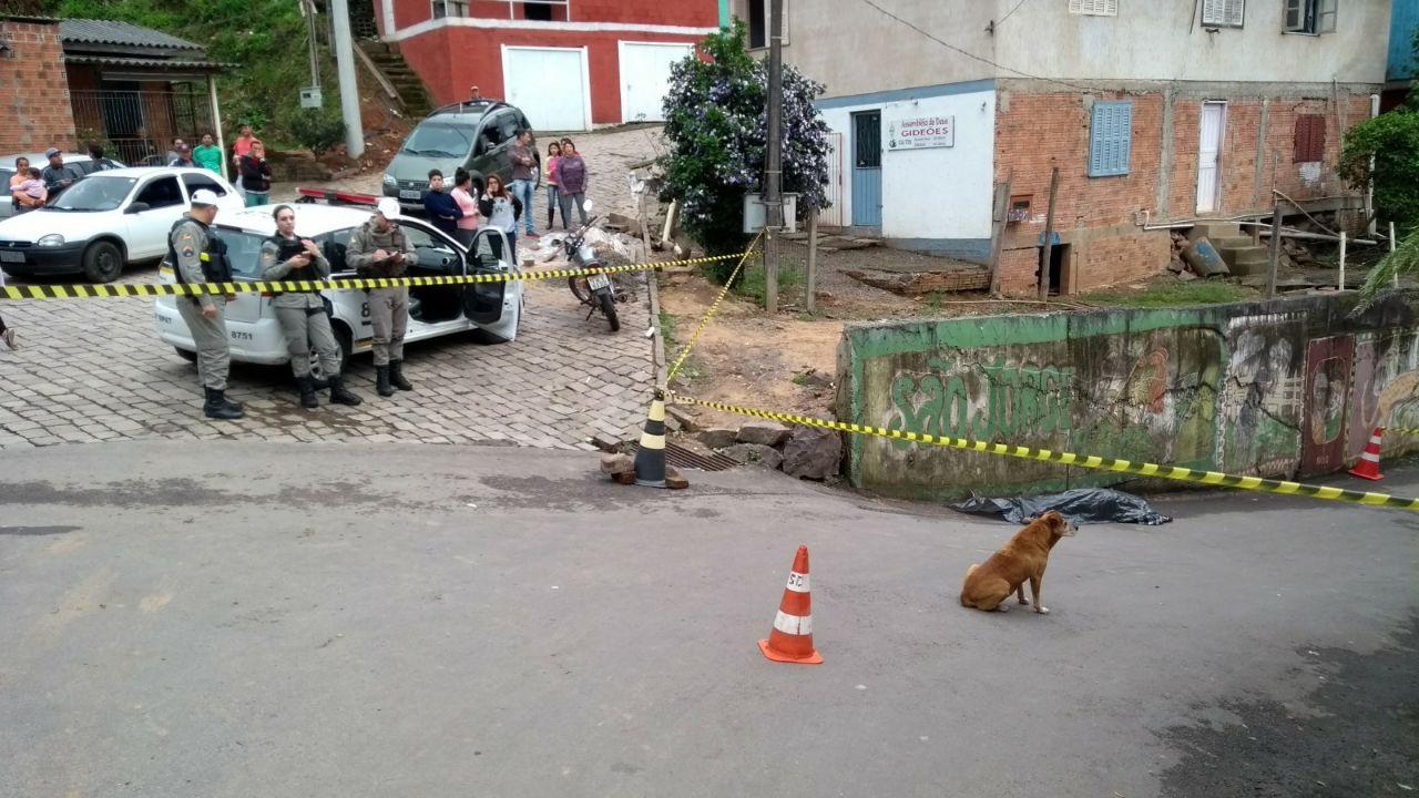 Homem é morto a tiros no Eucaliptos em Bento