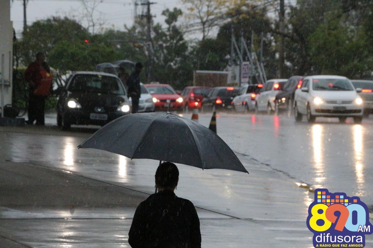 Próximos dias serão de chuva e umidade no Estado