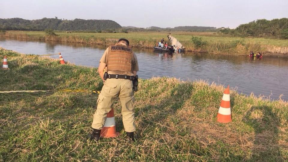 Localizado o corpo de morador de Bento desaparecido em rio de Santa Catarina