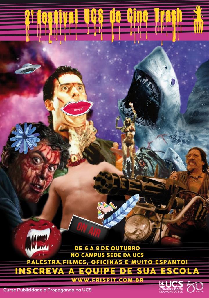 II Festival UCS de Cine Trash acontece em outubro