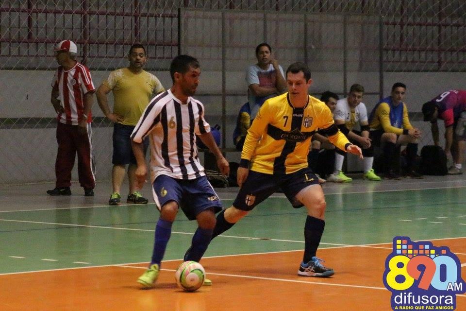 Liga Municipal de Futsal com rodada decisiva nesta noite em Bento