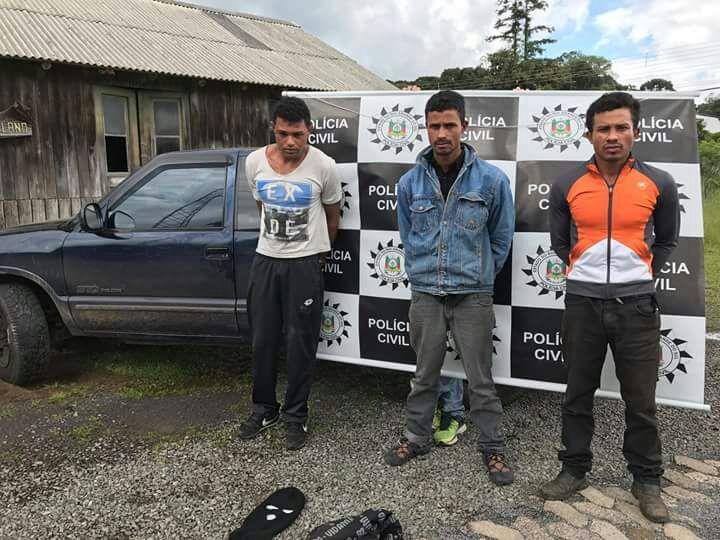 Polícia Civil prende quadrilha por roubos com facões na região das hortênsias