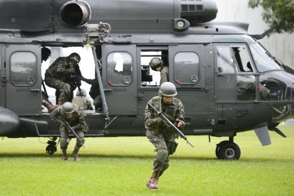Exército organiza inédito exercício logístico multinacional na Amazônia