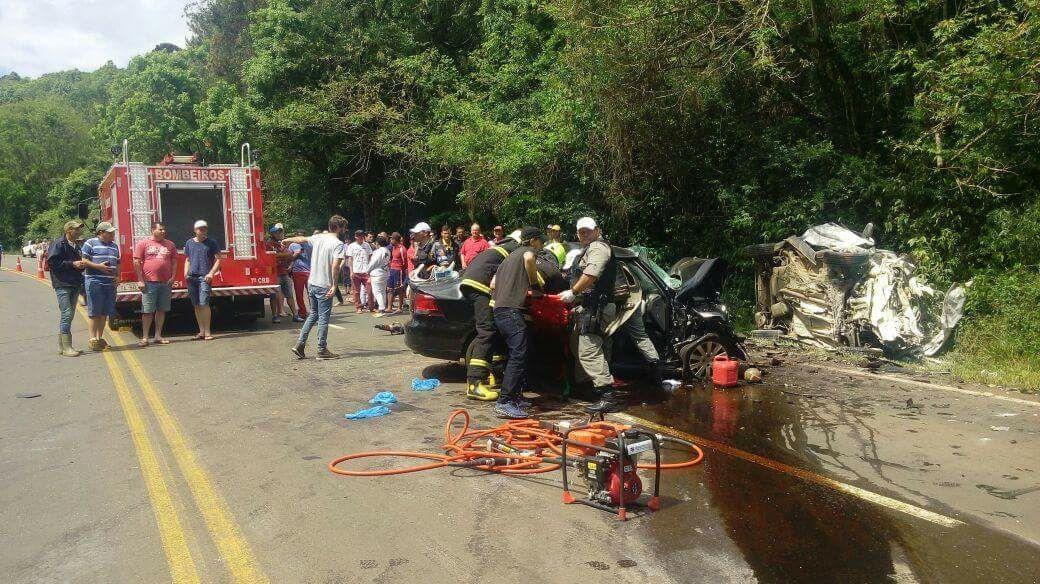 Moradora de Bento morre em acidente na ERS-129 em Dois Lajeados