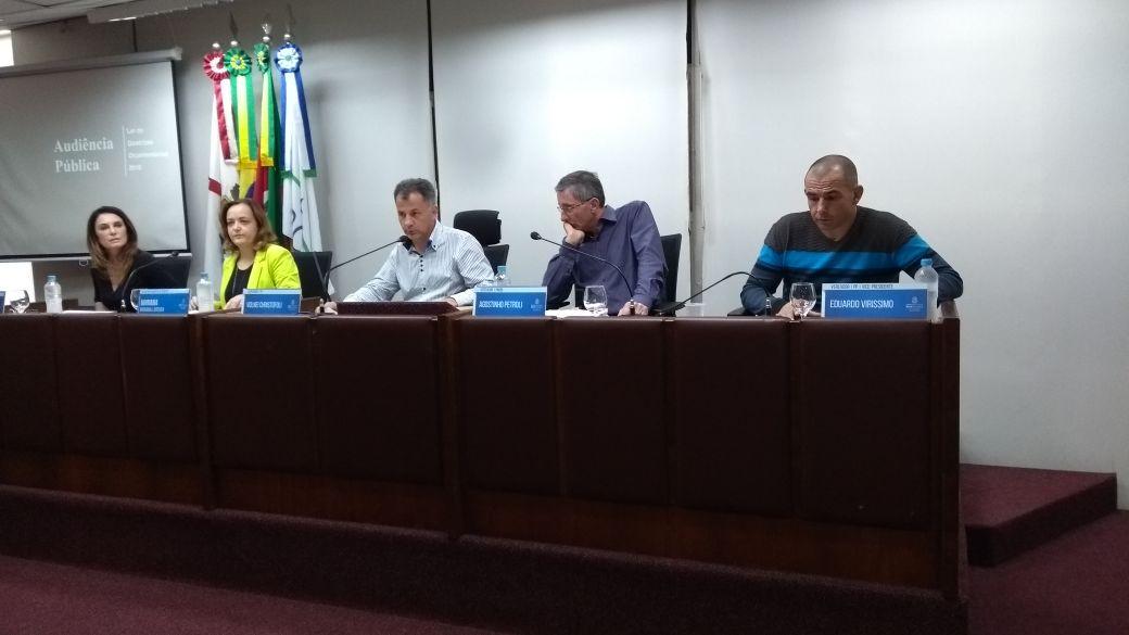 Audiência debate LDO em Bento
